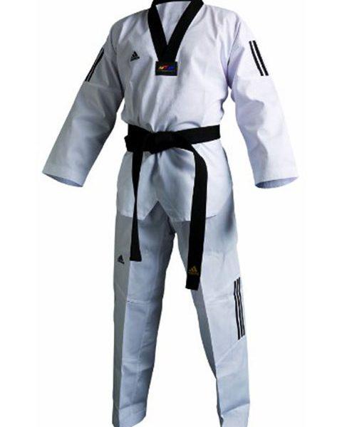 Adi Club 3 taekwondo puku - Fin Budo Best f5374bed3d