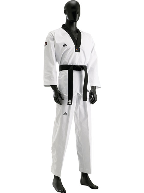 Adi Champ II taekwondo puku - Fin Budo Best 14fa55a75a